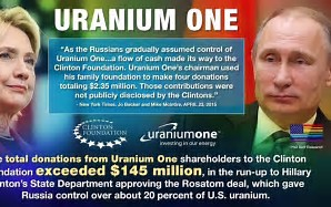 Clinton Collusion with Russian Uranium Deal